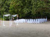 Vorbereitung Strandhochzeit