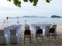 Stühle Strandhochzeit