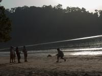 Drohne auf Datai Beach