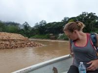 Auf dem Sungai Tembeling