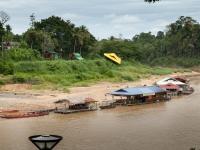 Kuala Tahan am Sungai Tembeling