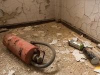 Feuerlöscher und Graffitydose