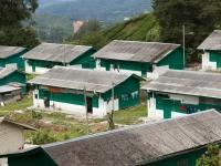 Arbeiterhäuser der Teeplantage