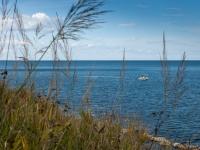 Fischerboot an der Adriaküste I