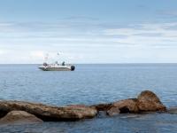 Fischerboot an der Adriaküste III