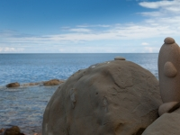 Kunstwerk des Meeres