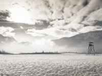 Hochstand am See